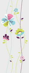 ROOMMATES  Sugar Blossom Peel and Stick Giant Wall Decals