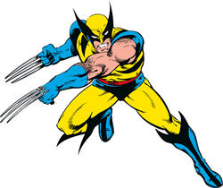 ROOMMATES  Marvel Classic Wolverine Peel and Stick Giant Wall Decals
