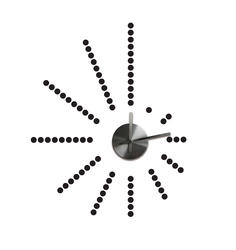 ROOMMATES  Morse Code Clock Peel and Stick Wall Decals