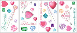 RoomMates Princess Peel & Stick Wall Decals