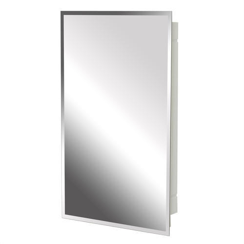 Zenith Bathroom Cabinets: Zenith Beveled Swing Door Medicine Cabinet At Menards®