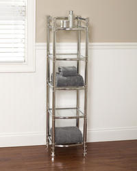 Tuscany Chrome Somerset Linen Tower