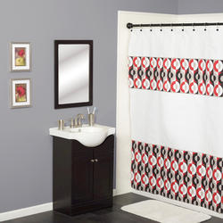 Simply Style Circles Shower Curtain