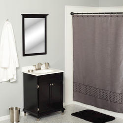 Simply Style Geo Block Shower Curtain