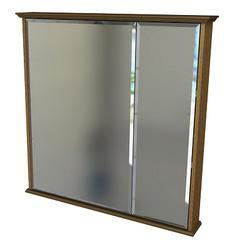 "Zenith 30"" Oak Bi-View Medicine Cabinet"