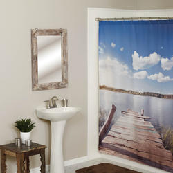 Simply Style Lake Edge Shower Curtain