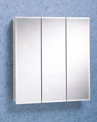 "Zenith 36"" Tri-View Medicine Cabinet"