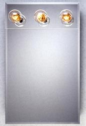 Zenith Frameless Lighted Medicine Cabinet
