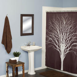 Simply Style Silhouette Shower Curtain