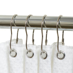Simply Style Chrome Closed Shower Ring