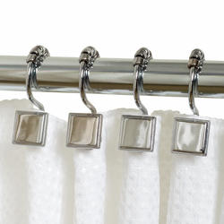 Simply Style Chrome Decorative Roller Shower Hook