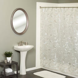 Simply Style Tossed Botanical Shower Curtain