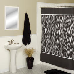 Simply Style Zebra Shower Curtain
