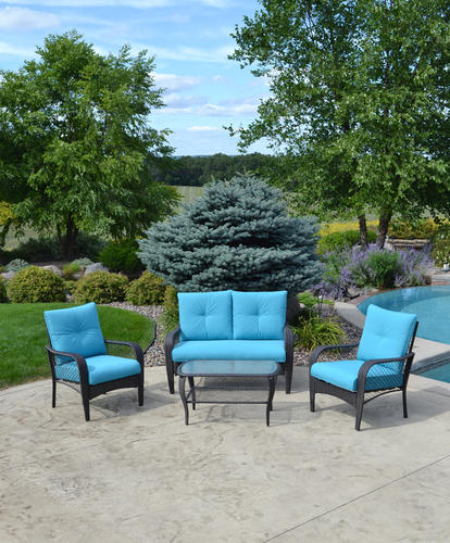 Backyard Creations® Marina Bay 4-Piece Deep Seating