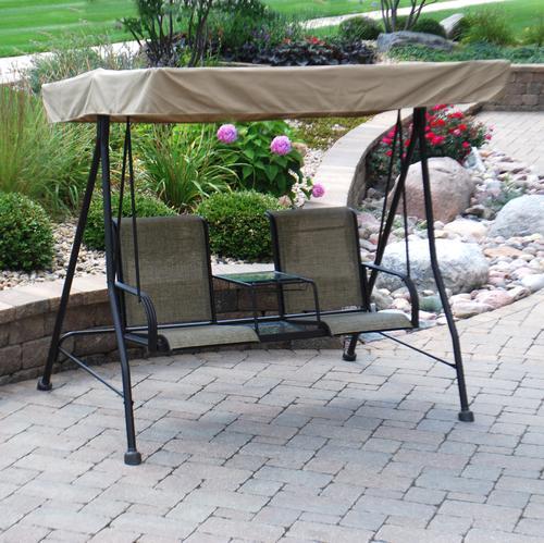 Backyard Creations Patio Furniture Menards additionally Backyard ...