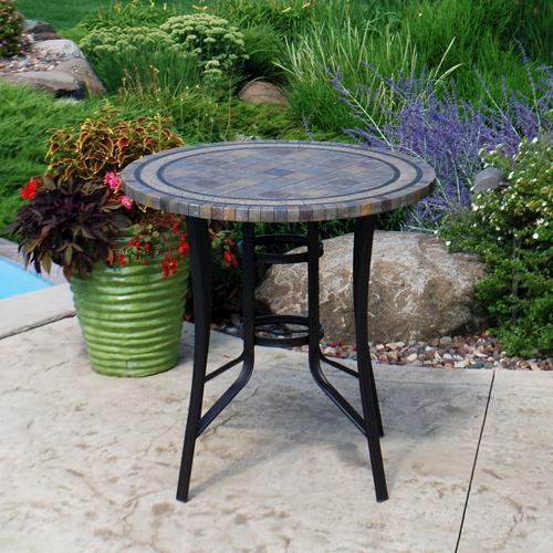 Backyard Creations Laguna High Dining Table At Menards®