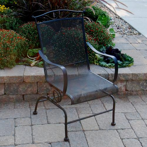 Backyard Creations Wrought Iron Action Chair At Menards®