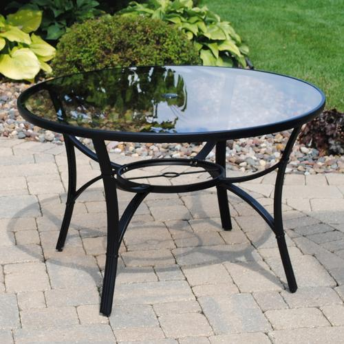 "Backyard Creations 46"" Augustine Dining Table at Menards"