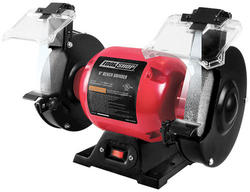 "Tool Shop® 6"" Bench Grinder with LED Work Lights"