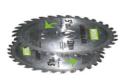 Worksite Carbide-Tipped Double Cut Saw Blade