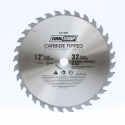 "Tool Shop® 12"" x 32T Carbide General Purpose Saw Blade"