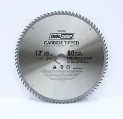 "Tool Shop® 12"" x 80T Carbide Finishing  Saw Blade"