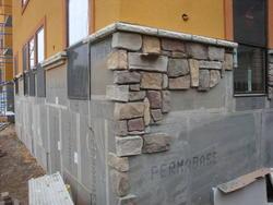 Bristol Canyon Stone European Cobblestone 90-Degree Stone Veneer Outside Corner 5 Lin. Ft.