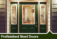 Prefinished Steel Doors