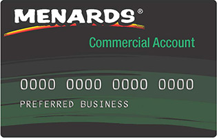 Learn More About The Menards Commercial Card