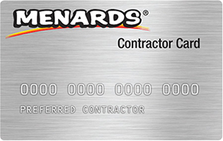 Learn More About The Menards Contractor Card