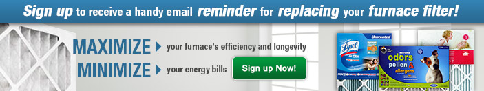 Furnace Filter Email Reminder