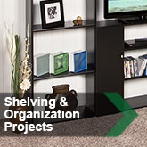 Shelving & Organization Projects