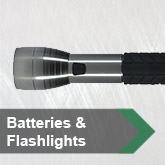 Batteries &amp; Flashlights
