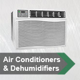 Air Conditioners &amp; Dehumidifiers