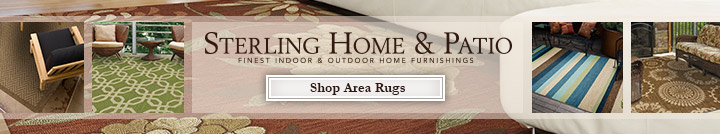 Sterling Home & Patio Area Rugs