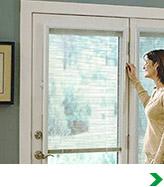 Encapsulated Door Blinds