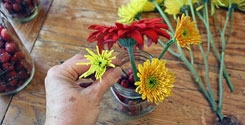 How to Make Beautiful Fall Flower Arrangements