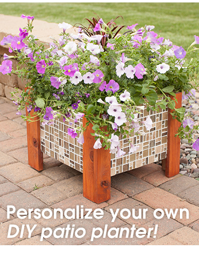 Personalize Your Own DIY Patio Planter
