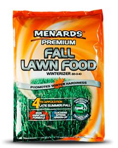 Fall Lawn Food