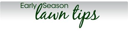 Early Season Tips