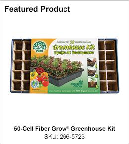 "50-Cell Fiber Grow<span class=""registered"">&reg;</span> Greenhouse Kit"