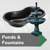 Ponds & Fountains