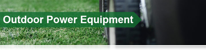 Outdoor Power Equipment Banner