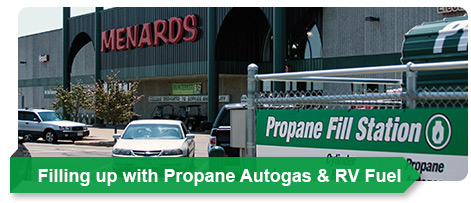 Filling up with Propane Autogas & RV Fuel