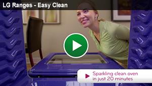 LG Ranges - Easy Clean