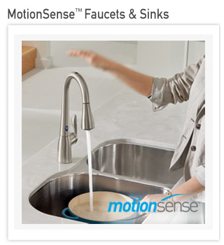 MotionSense Faucets & Sinks