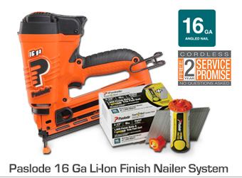 Paslode 16 Ga Li-Ion Finish Nailer System