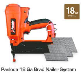 Paslode 18 Ga Brad Nailer System