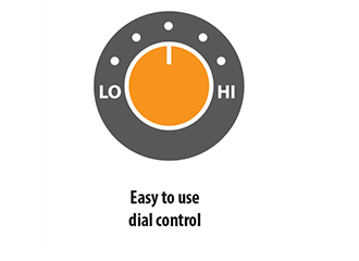 Easy to Use Dial Control