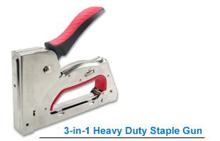 3-in-1 Heavy Duty Staple Gun